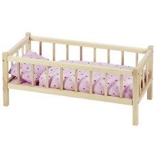 goki Ліжечко для ляльок з боковинками