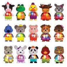 Li`l Woodzeez Іграшка Bobblehead Сюрприз зі світлом Серія 5