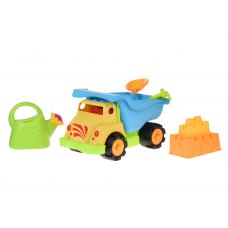 Same Toy Набір для гри з піском Вантажівка жовта (6 од.)