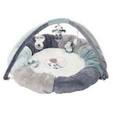 Nattou Розвиваючий килимок із дугами і подушками Лулу, Лея і Іполит