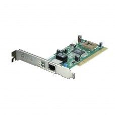 Мережева карта D-Link DGE-530T 1x10/100/1000TX, PCI, Місце під чіп, CSMA/CD, WoL