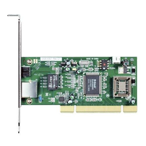 Мережева карта D-Link DGE-530T 1x10/100/1000TX, PCI, CSMA/CD, WoL