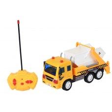 Same Toy Машинка на р/у CITY Вантажівка з контейнером (жовтий)