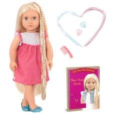 Our Generation Лялька Хейлі (46 см) з волоссям що росте, блондинка