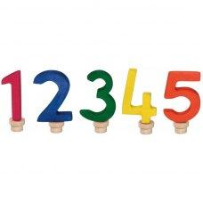 nic Набір цифр для торта 1-5