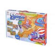 Same Toy Пазл Будівельна техніка