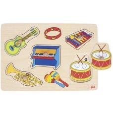 goki Пазл звуковий Музичні інструменти