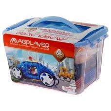 MagPlayer Конструктор магнітний 64 од. (MPT-64)