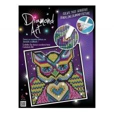 Sequin Art Набір для творчості DIAMOND ART Owl New