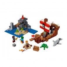 LEGO Конструктор Minecraft Пригоди на піратському кораблі 21152