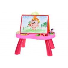 Same Toy Навчальний стіл My Art centre (рожевий)