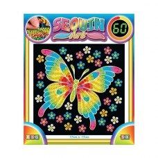 Sequin Art Набір для творчості 60 Butterfly