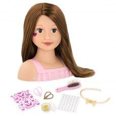Our Generation Лялька-манекен Модний перукар, брюнетка