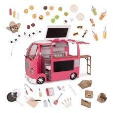 Our Generation Транспорт для ляльок - Продуктовий фургон (рожевий)