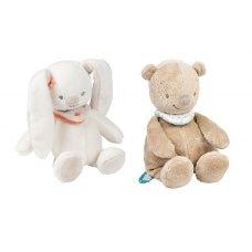 Nattou Набір мяких іграшок Мія і Базиль