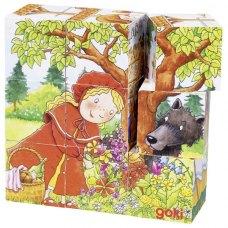 goki Кубики деревяні - Час казок