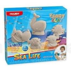 PAULINDA Пісок для творчості Sandy clay Морське життя 300г, 5 од.