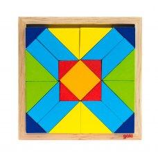 goki Пазл деревяний Світ форм-прямокутник
