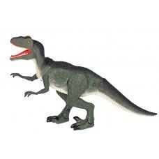 Same Toy Динозавр - Велоцираптор зелений (світло, звук)