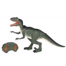 Same Toy Динозавр -  Велоцираптор зелений (світло, звук) RS6134Ut