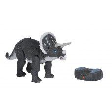 Same Toy Динозавр -  Трицератопс сірий (світло, звук) RS6137BUt