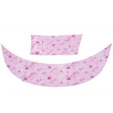 Nuvita Набір аксесуарів для подушки DreamWizard (наволочка, міні-подушка) Рожевий