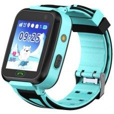 GoGPSme Дитячий телефон-годинник з GPS трекером GOGPS К07[K07BL]