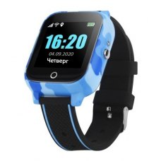GoGPSme телефон-годинник з GPS трекером GOGPS T01 та термометром[T01BL]