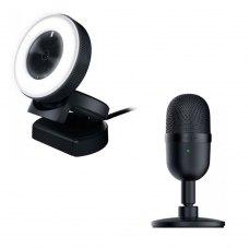 Бандл Вебкамера Razer Kiyo Black (RZ19-02320100-R3M1) + Мікрофон Razer Seiren mini (RZ19-03450100-R3M1)