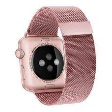 Ремінець Milanese Loop for Apple Watch 38/40 mm Rose Red