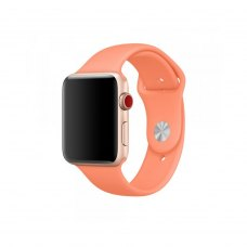 Ремінець Silicone Watch Band for for Apple Watch 38/40 mm Peach