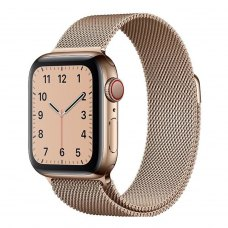 Ремінець Milanese Loop for Apple Watch 38/40 mm (with buckle) Gold