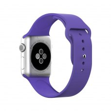 Ремінець Silicone Watch Band for for Apple Watch 38/40 mm Violet