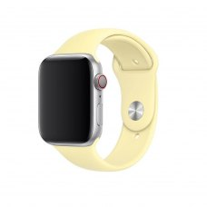 Ремінець Silicone Watch Band for for Apple Watch 38/40 mm Mellow Yellow