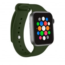 Ремінець Silicone Watch Band for for Apple Watch 42/44 mm Forest Green