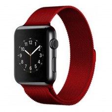 Ремінець Milanese Loop for Apple Watch 38/40 mm Red