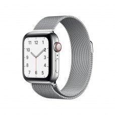 Ремінець Milanese Loop for Apple Watch 42/44 mm (with buckle) Silver