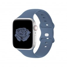 Ремінець Silicone Watch Band for for Apple Watch 42/44 mm Alaskan Blue