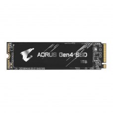 Накопичувач, SSD NVMe M.2 2280, Gigabyte Aorus Gen4, 1TB, PCIe 4.0, 3D TLC (GP-AG41TB)