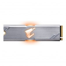 Накопичувач, SSD NVMe M.2 2280, Gigabyte Aorus RGB, 512GB, PCIe 3.0, 3D TLC (GP-ASM2NE2512GTTDR)