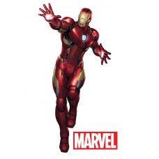 Наклейки інтерєрні MARVEL Iron Man (Залізна людина) 183 x 85 см