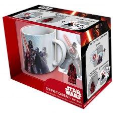 Подарунковий набір STAR WARS Darth Vader Чашка 320 мл, брелок та стікери
