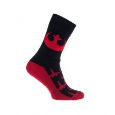 Шкарпетки набір STAR WARS Imperium and Rebels Logos (Зоряні війни) 39-46 різнокольорові