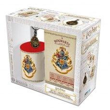 Подарунковий набір HARRY POTTER Hogwarts чашка 320 мл, брелок та блокнот