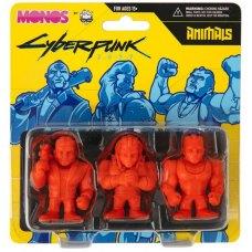 Фігурки набір CYBERPUNK 2077 Monos Animals Series 1 (Кіберпанк 2077 Серія 1) Помаранчевий