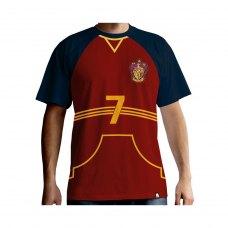 Футболка HARRY POTTER Quidditch jersey (Гаррі Поттер) для чоловiкiв червона