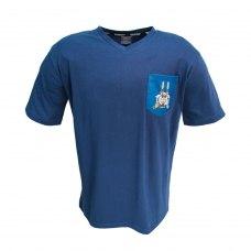 Футболка WH40K Tau (Вархамер 40К Тау) для чоловіків синя
