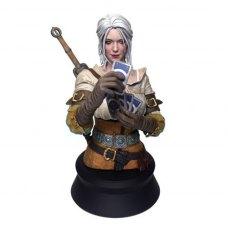 Статуетка WITCHER Wild Hunt Buste Ciri ver Gwent Ltd Ed (Відьмак Цирі) 22 см