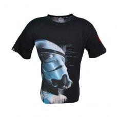Футболка STAR WARS Imperial Stormtrooper (Зоряні війни Штурмовик) для чоловіків чорна