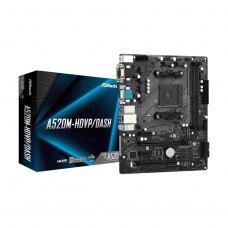 Материнська плата ASRock A520M-HDVP/DASH Socket AM4, MicroATX, Display Port, HDMI, DVI, D-Sub